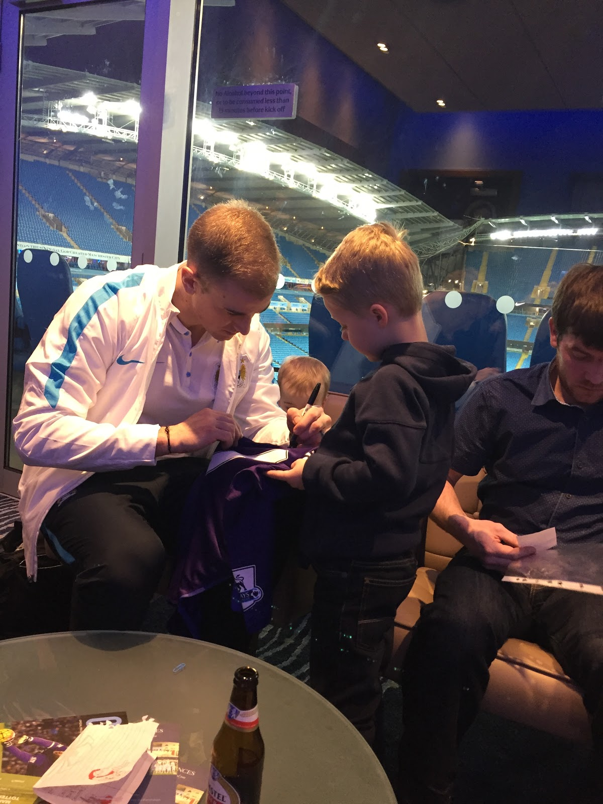 Jack meeting my good friend Joe Hart